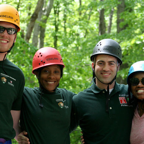 Temple ProRanger alumni help prepare new students for the National Park Service