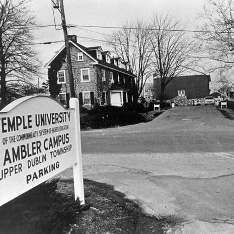 Recalling 60 Years As A Campus Of Temple