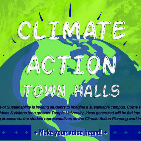 Office of Sustainability to host Climate Action Town Hall at Temple Ambler