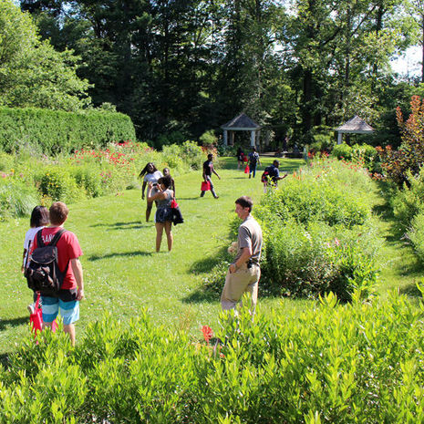College Bound Academy students learn about green careers at Temple Ambler