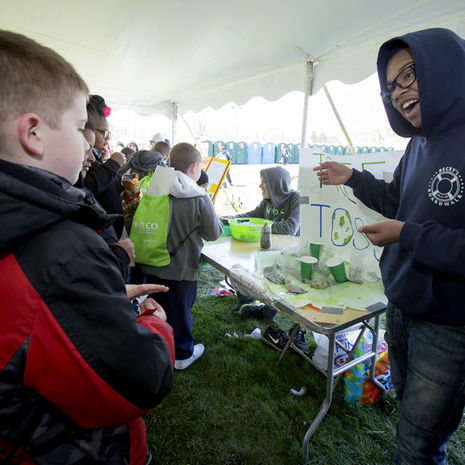 Students become the teachers at EarthFest 2016