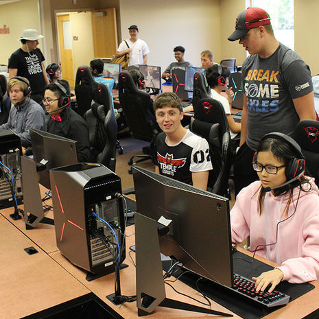Making Connections Through Gaming: Esports Comes to Temple University Ambler