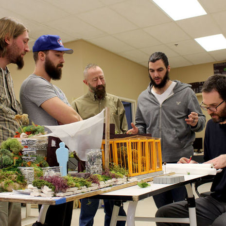 Landscape Architecture and Horticulture students gain ground at the Philadelphia Flower Show