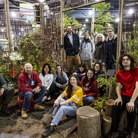 Landscape Architecture and Horticulture Programs Win Top Honors at the Philadelphia Flower Show