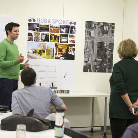 Temple Architecture and Planning students envision economic future of East North Philadelphia