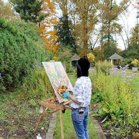 Landscape Painting students find new vistas at Temple Ambler