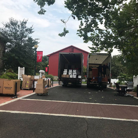 Temple Ambler is on the move!