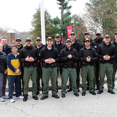 SLEPT Cadets Support Cancer Patients During No Shave November