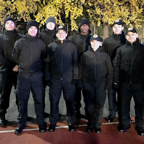 Temple University Municipal Police Academy Cadets Support Special Olympics Fall Festival