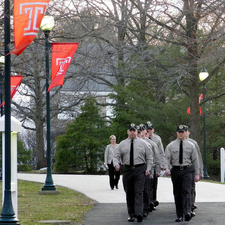 Temple University Police Academy trains first DCNR cadets