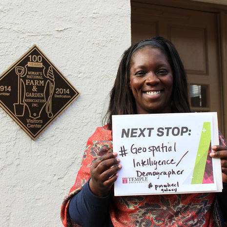 Sherrice Johnson: Finding her future in history