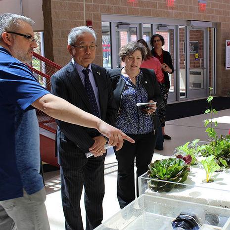 University Trustees explore future research partnerships at Temple Ambler