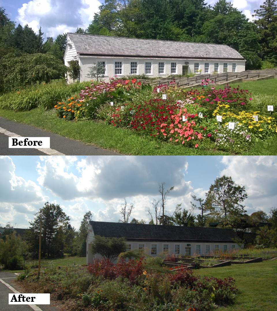 The Woman's National Farm and Garden Visitor's Center.