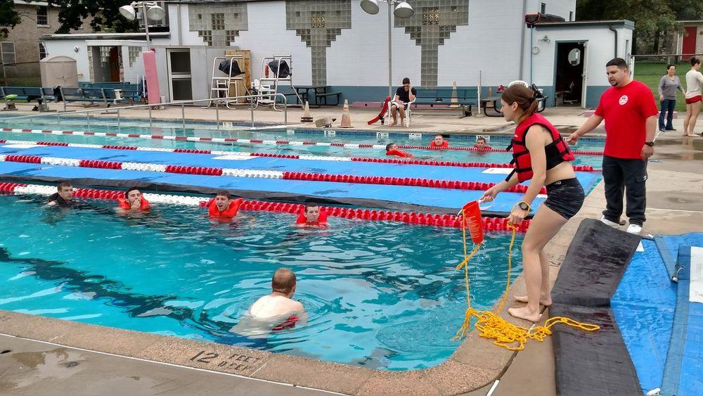 aquatic rescue training